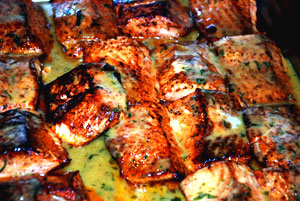 Salmon filet - an example of Good Bodybuilding Carbohydrate and Protein Sources